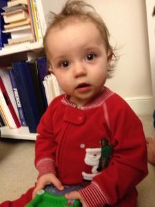 Riley at Christmas